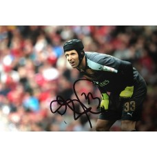 "Petr Cech Hand Signed 12x8"" Photograph"