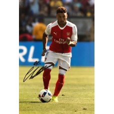 "Alex Oxlade-Chamberlain Hand Signed 12x8"" Photograph"