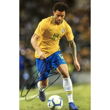 """Felipe Anderson Hand Signed 12x8"""" Photograph"""
