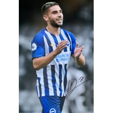 """Neal Maupay Hand Signed 12x8"""" Photograph"""