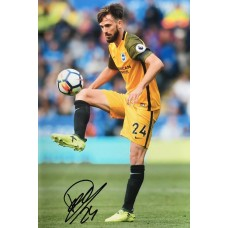 """Davy Propper Hand Signed 12x8"""" Photograph"""