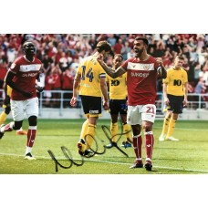 """Marlon Pack Hand Signed 12x8"""" Photograph"""