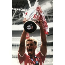 """Lyle Taylor Hand Signed 12x8"""" Photograph"""