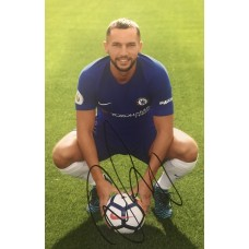 "Danny Drinkwater Hand Signed 12x8"" Photograph"