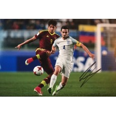 """Lewis Cook Hand Signed 12x8"""" Photograph"""
