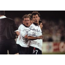 """Bryan Robson Hand Signed 12x8"""" Photograph"""