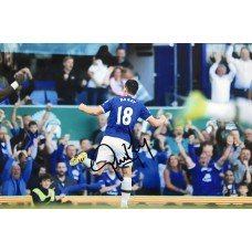 """Gareth Barry Hand Signed 12x8"""" Photograph"""