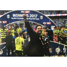 "David Wagner Hand Signed 12x8"" Photograph"