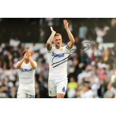 """Liam Cooper Hand Signed 12x8"""" Photograph"""