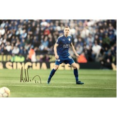 """Andy King Hand Signed 12x8"""" Photograph"""
