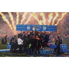 """Danny Simpson Hand Signed 12x8"""" Photograph"""