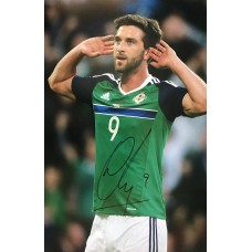 """Will Grigg Hand Signed 12x8"""" Photograph"""