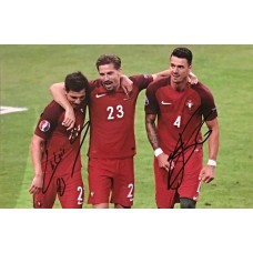 """Jose Fonte and Cedric Soares Hand Signed 12x8"""" Photograph"""