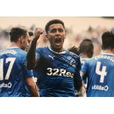 "James Tavernier Hand Signed 12x8"" Photograph"