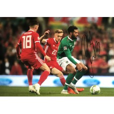 """Cyrus Christie Hand Signed 12x8"""" Photograph"""