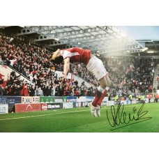 "Will Vaulks Hand Signed 12x8"" Photograph"