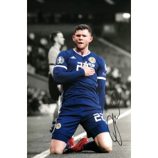 """Oliver Burke Hand Signed 12x8"""" Photograph"""
