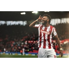 "Eric Maxim Choupo-Moting Hand Signed 12x8"" Photograph"