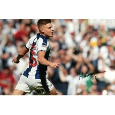 "Harvey Barnes Hand Signed 12x8"" Photograph"
