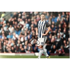 "Gareth Barry Hand Signed 12x8"" Photograph"