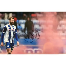 "Nick Powell Hand Signed 12x8"" Photograph"